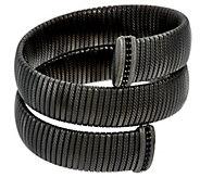 Judith Ripka Sterling Large Verona Tubogas Wrap Bracelet - J327128