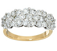 Round Diamond Cluster Band Ring, 14K, 2.00 cttw, by Affinity - J331128