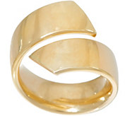 As Is 14K Gold Bold Polished Bypass Ring - J353028