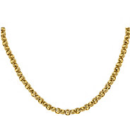 Italian Gold Knotted Link Necklace 14K Gold, 16.8g - J379228
