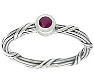 Peter Thomas Roth Sterling Ruby Signature Romance Ring - J379628