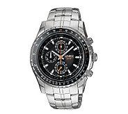Casio Mens Aviator Slide Rule Bezel Watch - J106929