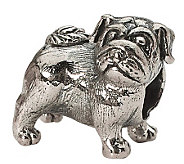 Prerogatives Sterling Pug Bead - J299529