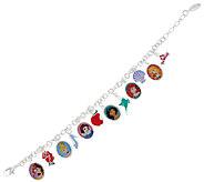 Disney 6 Princess Charm Bracelet - J325029