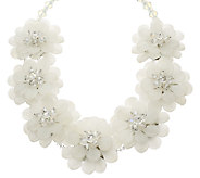 As Is Joan Rivers Perfect Petals 20-1/2 Necklace w/ 3 Extender - J327829