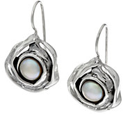 Hagit Sterling Silver Cultured Pearl Earrings - J328229