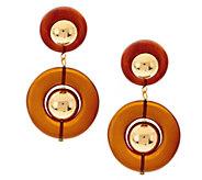 As Is Luxe Rachel Zoe Centric Bead Drop Earrings - J332129