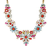 As Is Joan Rivers Fabulous Floral 18 Necklace w/ 3 Extender - J332429