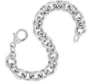 Judith Ripka Verona Sterling Bracelet 15.6g - J343529