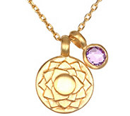 Satya 18 Mini Gemstone Chakra Necklace - J344429
