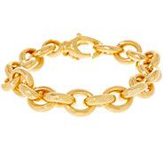 Oro Nuovo Bold Oval Rolo Link Bracelet, 14k - J355729