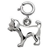 Sterling Cat Charm - J110130