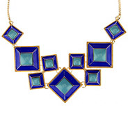 Susan Graver Geometric Statement Necklace - J290730