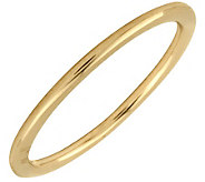Simply Stacks Sterling 18K Yellow Gold-Plated 1.5mm Ring - J298030