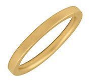 Simply Stacks Sterling 18K Yellow Gold-Plated 2.25mm Ring - J298930