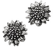 Or Paz Sterling Sunflower Stud Earrings - J308430