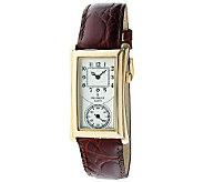 Peugeot Mens Vintage-Style Contoured Dial Doctors Watch - J313430