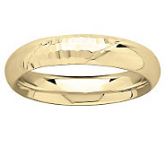 EternaGold Faceted and Polished Silk Fit Band Ring, 14K Gold - J315630