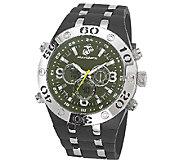 Wrist Armor Mens U.S. Marine Corps C23 Green &Black Watch - J316330
