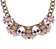 Joan Rivers Jeweled Couture 18 Statement Necklace w/ 3 Extender - J327130