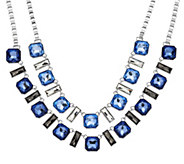 Susan Graver Multi-Chain Statement Necklace - J328230
