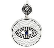 Luv Tia Sterling Silver All Seeing Eye Enhancer - J330230