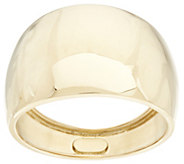As Is Vicenza Gold Polished Graduated Band Ring 18K Gold - J331430