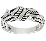 As Is JAI Sterling Sukhothai Twisted Ring - J334130