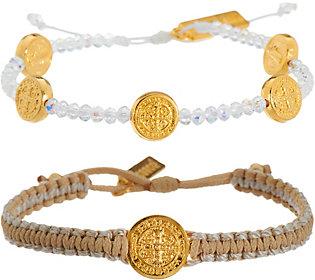 My Saint My Hero Gratitude Blessing Bracelets Set