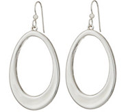 Simon Sebbag Sterling Silver Electroform Open Oval Earrings - J351030