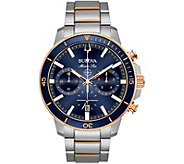 Bulova Mens Marine Star Blue Dial ChronographWatch - J378530