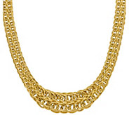 14K Gold Figure-Eight Link Necklace, 20.7g - J378730