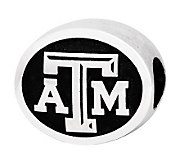 Sterling Silver Texas A & M University Bead - J300731