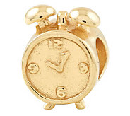 Prerogatives 14K Yellow Gold-Plated Sterling Alarm Clock Bead - J302831