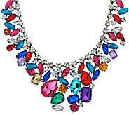 Susan Graver Jeweltone Statement Necklace - J321531