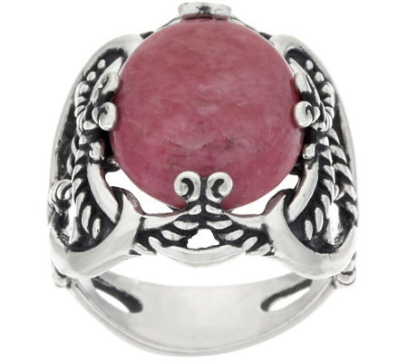 carolyn pollack sterling silver oval gemstone signature