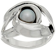 Hagit Sterling Silver Cultured Pearl Ring - J328231