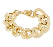 As Is Kenneth Jay Lanes Twisted Link Bracelet - J334431