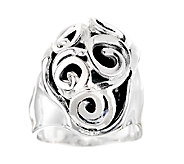Hagit Sterling Swirl Cutout Ring - J337531