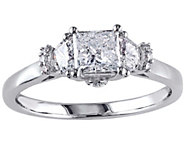 Princess-Cut Diamond Ring, 9/10 cttw, 14K Goldby Affinity - J342631