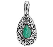 Carolyn Pollack Signature Malachite Doublet Enhancer - J343831