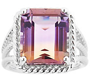Sterling 9.00 ct Ametrine Ring - J344231