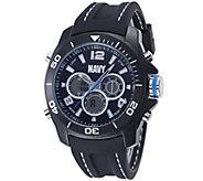 Wrist Armor U.S. Navy C29 Multifunction Watch -Black Strap - J345731