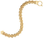 14K Gold Braided Woven Bracelet or Necklace, 7.2g - 20.0g - J57231