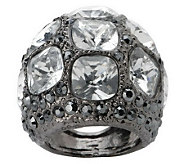 Kenneth Jay Lanes Manhattanite Pave Ring - J149532