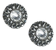 Joan Rivers Signature Baguette Button Earrings - J261932