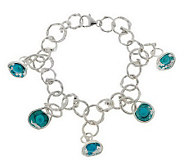 As Is Hagit Gorali Sterling 8 Reflections Cultured Pearl Bracelet - J286132