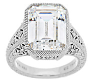 Judith Ripka Sterling 13.25 ct tw Diamonique Estate Ring - J290232