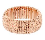 Bronzo Italia Bold Beaded Texture Stretch Bracelet - J293132