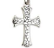 Novica Artisan Crafted Loyalty Cross Pendantw/Chain - J298532